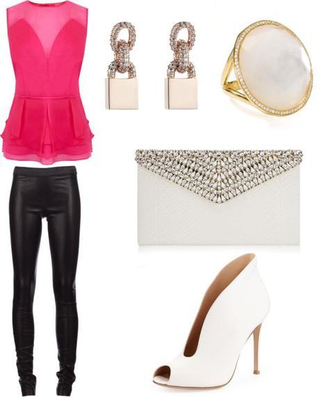 Leather and Pink