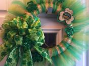 Patrick's Tulle Wreath