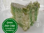 Green Jello Cake