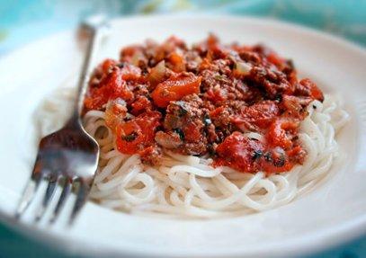 Pasta with Homemade Ragu Sauce Recipes