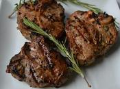 Garlic Rosemary Grilled Lamb Chops