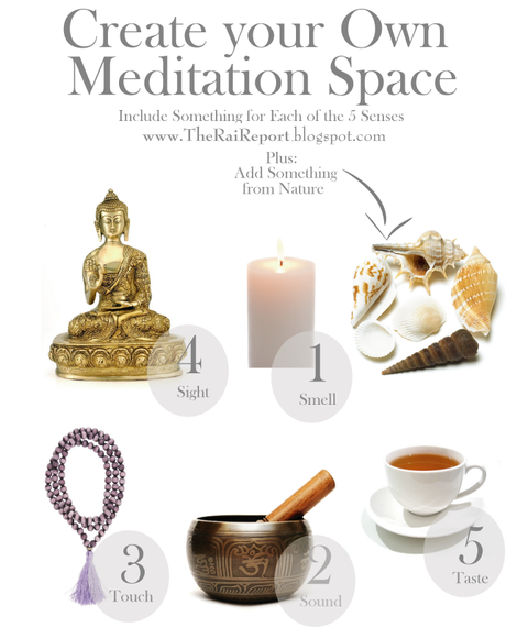 5 Steps To Create Your Own Meditation Space Paperblog
