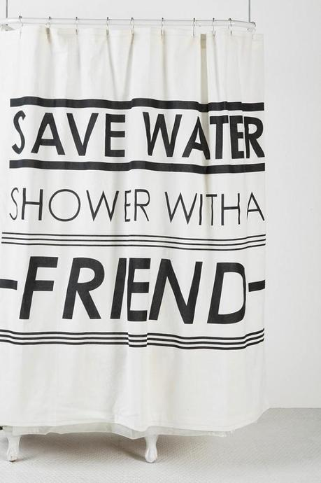 Save water, shower with a friend