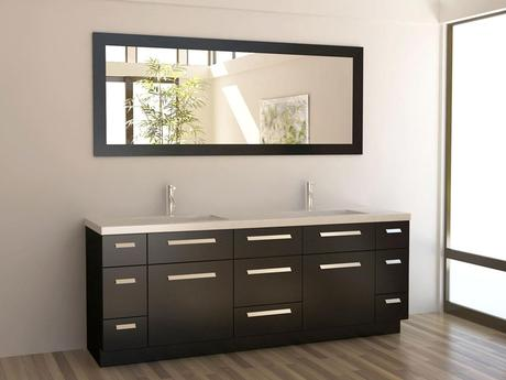 84 Inch Moscony Double Sink Vanity