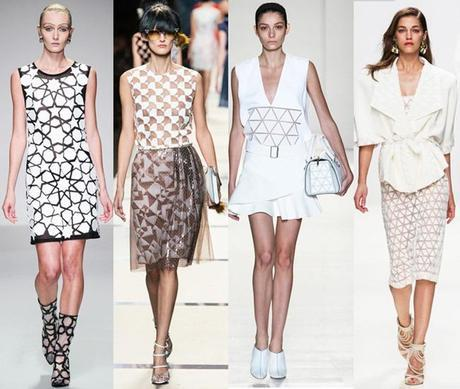Geometric patterns fashion trends for spring 2014