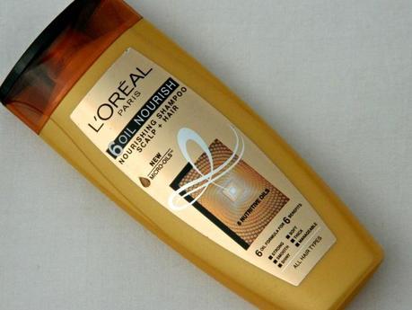 L'oreal Oil Control Shampoo L'oreal Paris 6 Oil Nourish