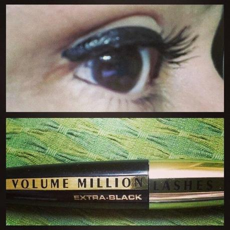 EOTD - Little Bo Peep like lashes with Loreal Volume Million Mascara