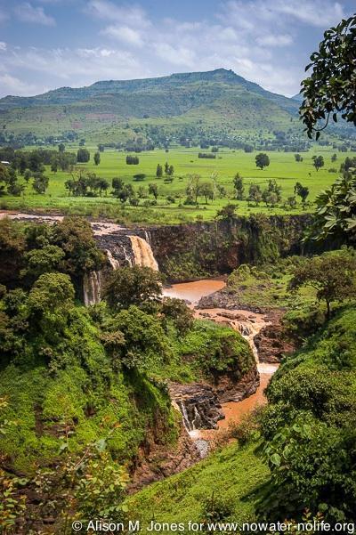 Ethiopia: Bahir Dar, Tissiat Falls, the source of the Blue Nile