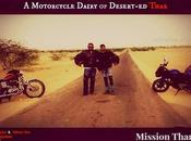 Motorcycle Dairy Desert-ed Thar