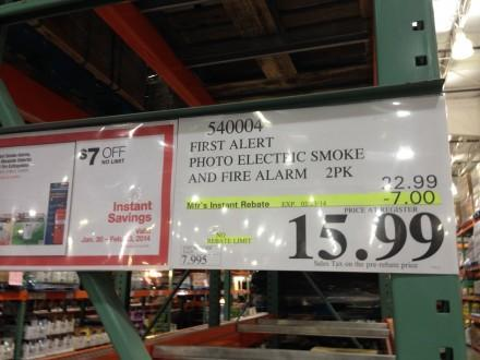 Photoelectric smoke alarms