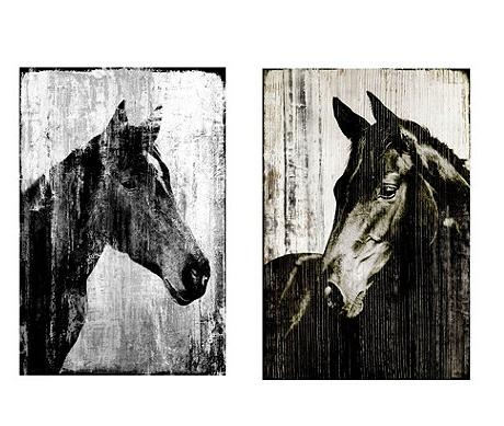 equestrian wall art