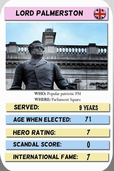 Playing Palmerston – Card No.9 in Our Political London Trump Card Game