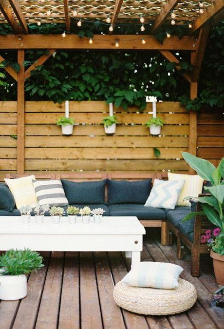 Inspiration for your outdoor space if spring ever gets for Outdoor patio inspiration