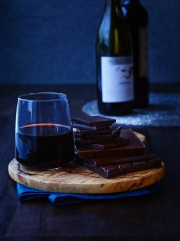 Dark Chocolate and Red wine food group