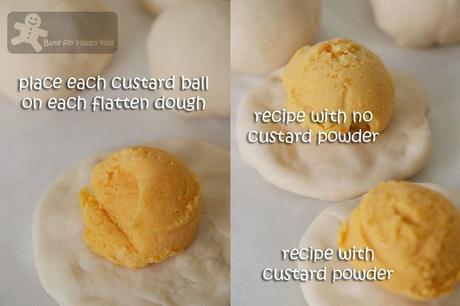 Liu Sha Bao / Chinese Molten Salted Egg Custard Steamed Buns 流沙包