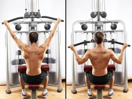 Lateral Pull downs
