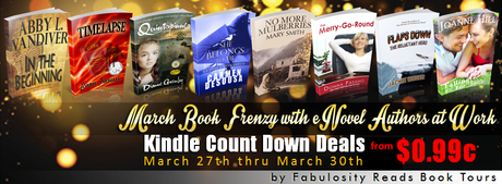 MARCH BOOK FRENZY WITH eNOVEL AUTHORS AT WORK