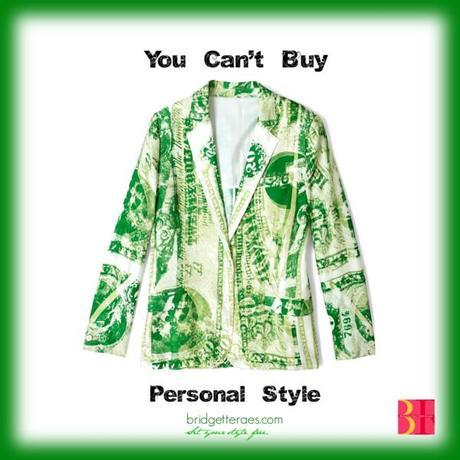 Can't buy personal style