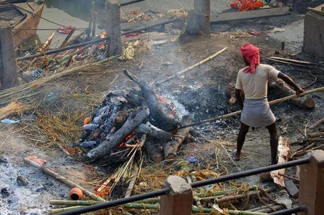 Funeral ghat Varanasi