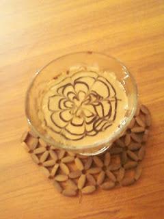 Chocolate Sauce Bavarian