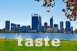 Taste of Perth City Skyline