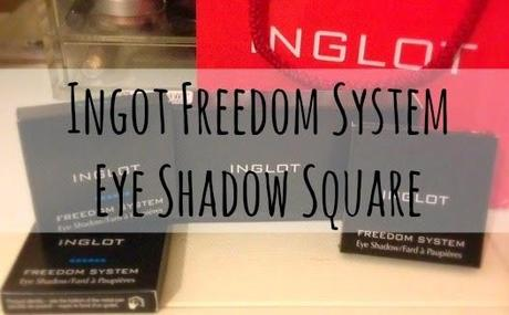 Inglot Freedom System Eye Shadow Square's- 423, 453, 450