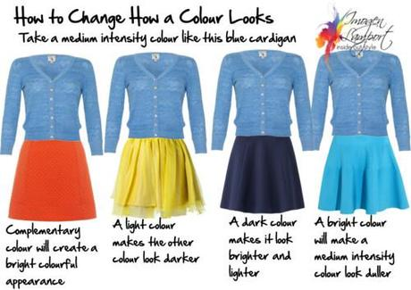 How to change how a color looks