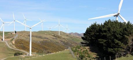 The West Wind, Meridian Energy's wind farm in Makara, Wellington, New Zealand
