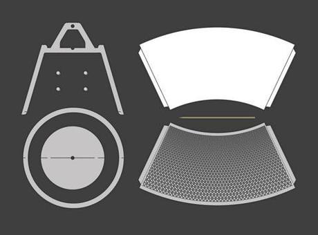 Lite Brite Grows Up Flatpack Paper Lamp Paperblog