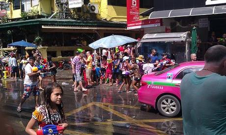 Nana Plaza in Songkran