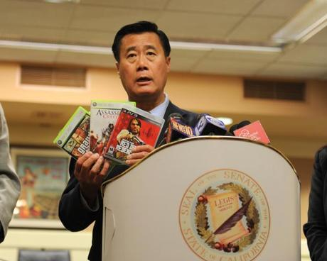 State Senator Leland Yee (D-CA), an anti-gun anti-violent video game legislator was arrested on charges he trafficked in firearms and violated corruption laws.