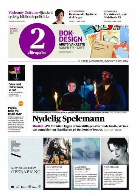Norway's Aftenposten: the rethink of those weekend editions