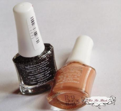 New U Nail Paints in ShowStopper and Burnt Sienna - Review, Swatches