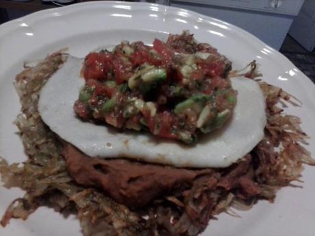 Huevos Rancheros (gluten free, vegetarian)