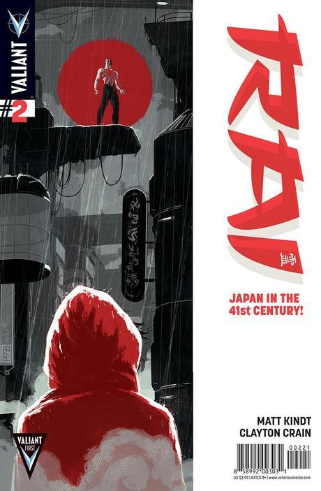 First Look: RAI #2 – MATT KINDT and CLAYTON CRAIN's New Series Soars in June!