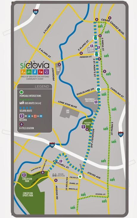 Siclovia in a new spot: Play in the Southtown street!