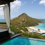 Looking down from villa at Hermitage Bay, Antigua