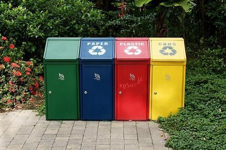 Recycle Trash Bin