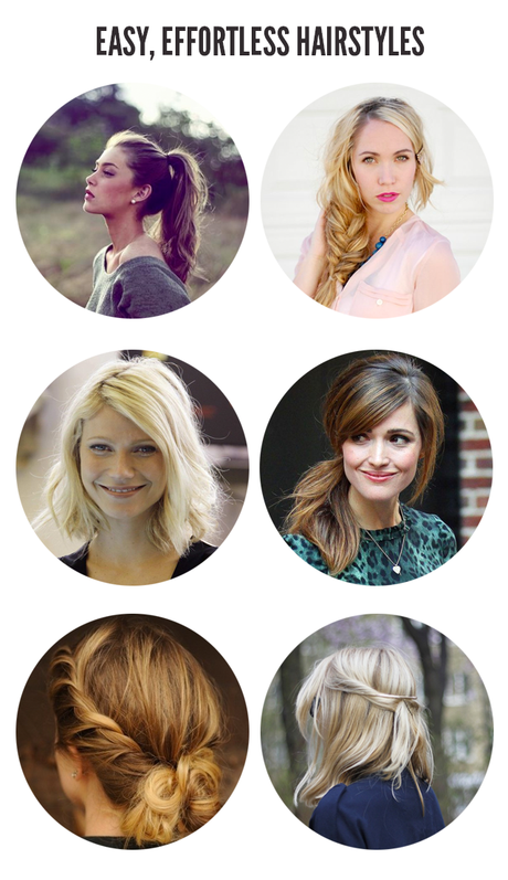 Easy, Effortless Hairstyles