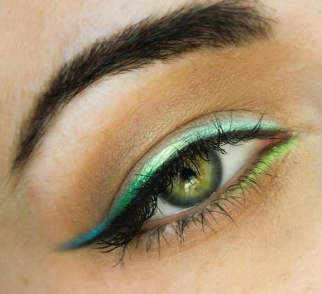 Gradient Ombre Eyeliner How To (DIY Colored Liner)
