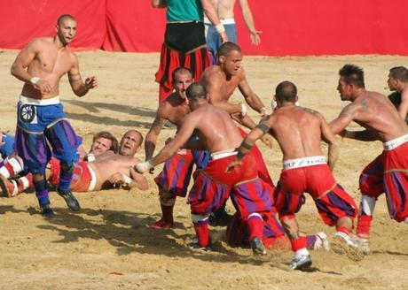 Calcio Storico Possibly The Most Violent Sport In The World