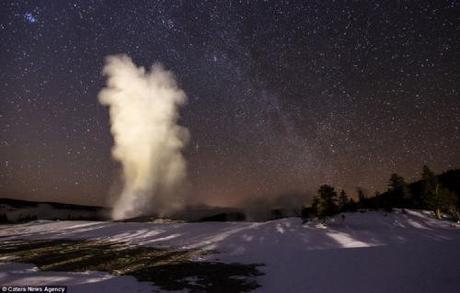 Milky Way from Yellowstone Natl Park