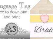 Free Print Luggage Tags
