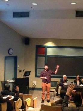 Speaking at AshokaU Exchange 2014