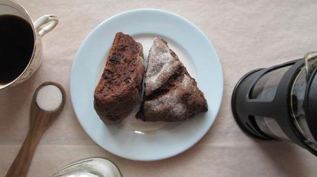 Double chocoate scones II