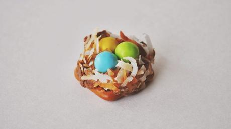 Chocolate & Caramel Easter Nests