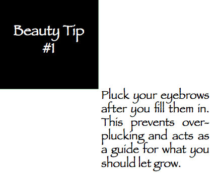 Beauty Tip of the Week