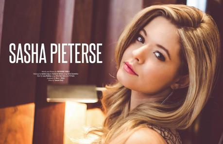Sasha Pieterse For Nkd Magazine April 2014 Paperblog