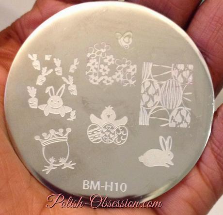Easter Themed Bundle Monster Stamping - BM-H10