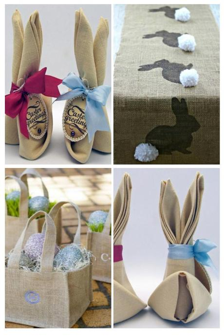 Easter burlap ideas
